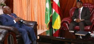 Visite officielle du Secrétaire Exécutif du CERDOTOLA en RCA