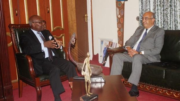 Le nouveau Directeur du Bureau UNESCO pour l'Afrique Centrale en visite au CERDOTOLA
