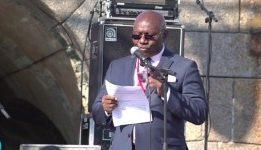 Discours d'ouverture du Festival des Continents au fort de Querqueville, Pr Charles Binam BIKOI