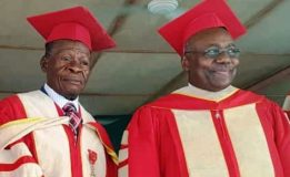 Le Pr Charles Binam Bikoi reçoit la distinction de Docteur Honoris Causa de Houdegbe North American University, Bénin