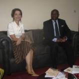Audience avec Mme l'Ambassadeur du Brésil au siège du CERDOTOLA, le 7 mai 2019